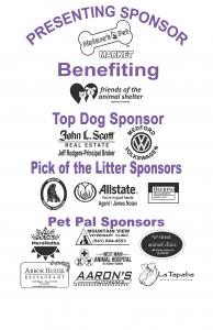 Dog Walk 2019 Sponsors